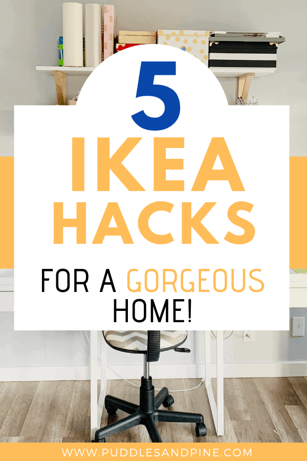 Decorating your house with very little money can be a challenge, especially when it comes to furniture. IKEA to the rescue! Check out how to decorate with IKEA furniture on a budget without making it look cheap! I love using these awesome IKEA hacks to help create a beautiful home. #ikea #diy #decor #homedecor #ikeahack