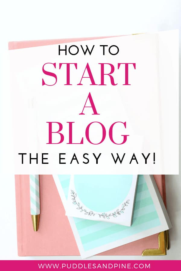 This is a guide on how to start a profitable blog from scratch the easy way! A lot of people start a blog for fun but many other choose to start a blog to stay home so they can quit their jobs. Either way, here is a super informative post on how to create a super easy blog for beginners! #makemoneyonline #makemoney #workfromhome #blogging