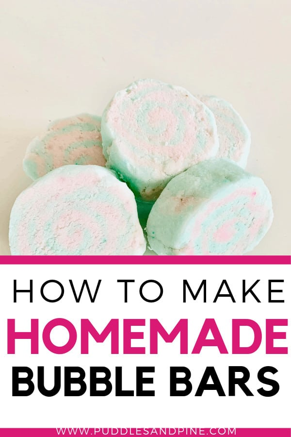 There's nothing quite as cozy as a bubble bath. These easy homemade bubble bars are just like lush's which is what inspired me to experiment with this DIY all natural bubble bar recipe. If you have struggled with making homemade bubble bath but end up with sad, barely there bubbles, then check out these amazing homemade essential oil bubble bars! #bubbles #bathtub #essentialoils #diy