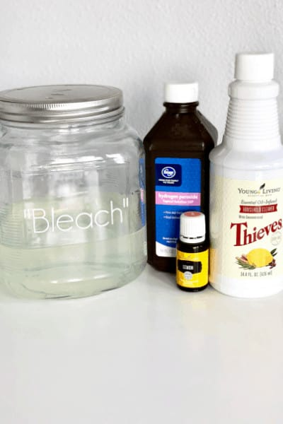 non toxic homemade bleach alternative recipe