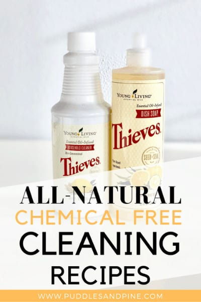 "There's a ton of ""natural"" cleaning products out there but you'd be surprised how many of them still contain harmful chemicals. I have experimented with a lot of homemade chemical free cleaning products and these are by far my favorite. These are 100% non toxic cleaners with essential oils and are extremely effective and work far better than most store bought cleaners I've tried. Keep reading to learn how to make your own cleaners with no harmful chemicals. #cleaningtips #essentialoils"
