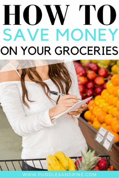 how to save money on groceries every month