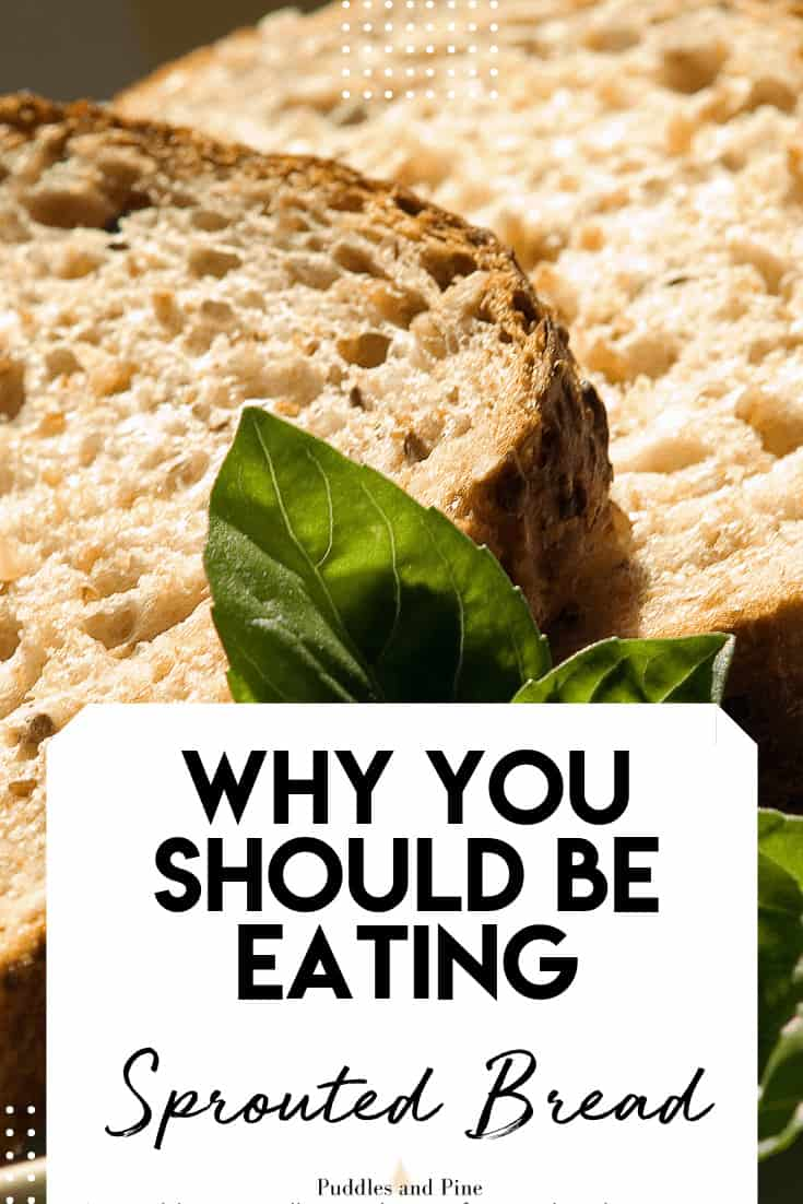 It's widely known that whole wheat bread is healthier than white bread. But what about sprouted grains? And what is it anyways? Sprouted grains are one of the healthiest forms of grain for your health. The nutritional value of sprouted grains are significantly higher than traditional wheat and it's so much easier on your digestive system. Keep reading to learn why sprouted grains are so good for you! #bread #sprouted #healthy