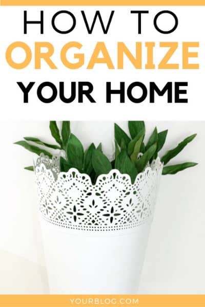 Sometimes it can be hard to come up with DIY home storage organization ideas, but using these tips has helped me keep track of everything so much more easily and provides cheap home décor ideas too! Keep reading to learn how to organize your home inexpensively and how to be more organized in general.#homedecor #organization #homedecorideas #organizationideas #decor