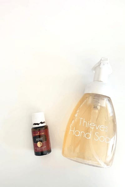 DIY non toxic foaming hand soap