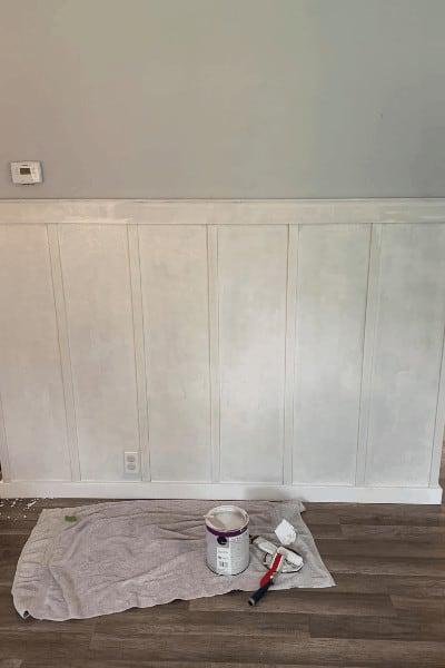 diy wainscoting paint
