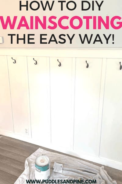 diy wainscoting pin
