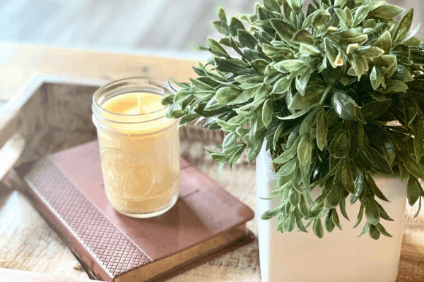 DIY beeswax candles recipe