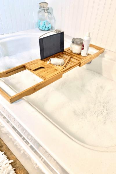self care bubble bath
